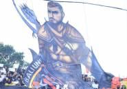 Ketika Paulo Sergio Dibuatkan Koreo Khusus Oleh Pendukung Bali United