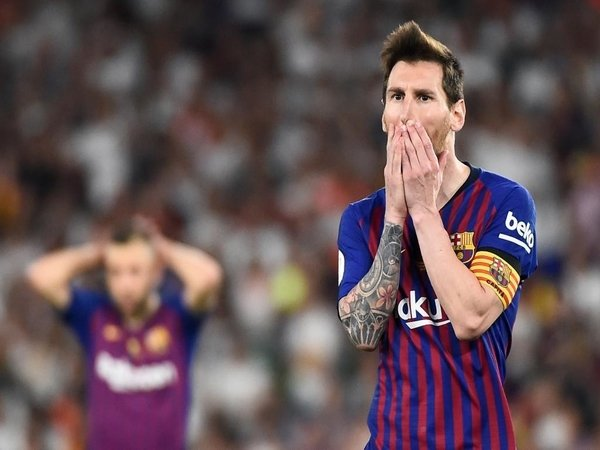 Van Gaal: Messi Biang Kerok Kegagalan Barca di Liga Champions!