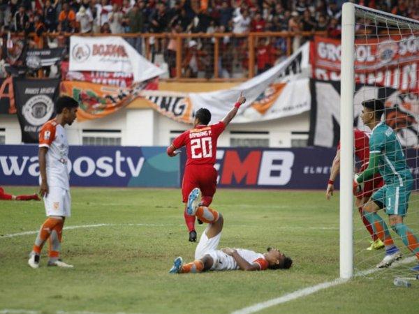 Gol Bepe di Injury Time Pastikan Kemenangan Persija Atas Borneo FC