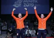 Ganda Putri Belanda Rebut Emas European Games 2019