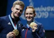 Kandaskan Duo Adcock, Marcus/Smith Juara Ganda Campuran European Games 2019