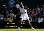 Hasil Wimbledon: Serena Williams Langkahi Rintangan Pertama