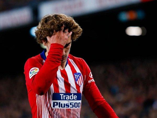 Mangkir dari Latihan Pramusim, Atletico Madrid Denda Griezmann