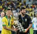 Bahagianya Klopp Lihat Alisson dan Firmino Menangkan Copa America