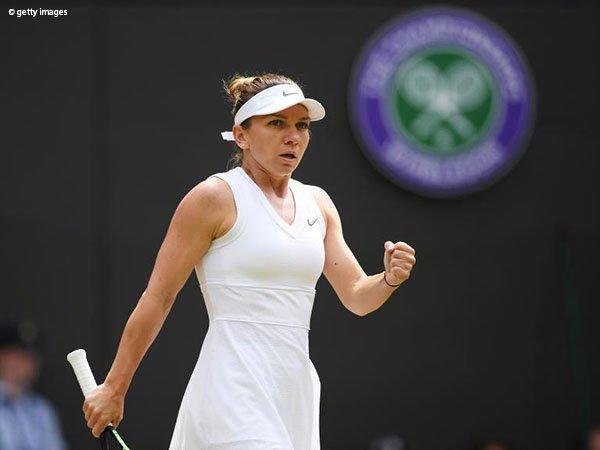 Hasil Wimbledon: Simona Halep Akhiri Mimpi Cori Gauff