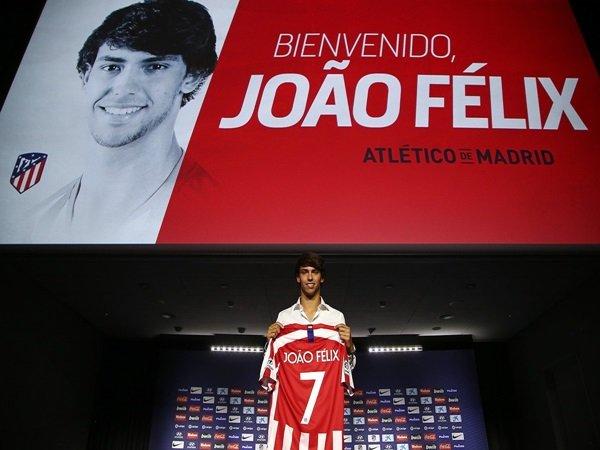Ingin Ukir Sejarah di Atletico Madrid, Joao Felix Enggan Dibandingkan dengan CR7