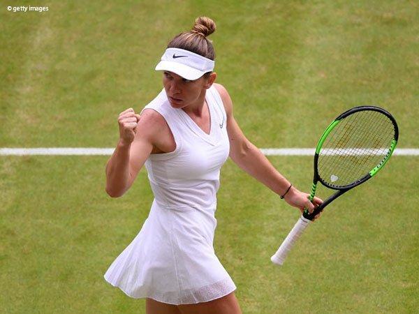 Hasil Wimbledon: Zhang Shuai Tak Mampu Halangi Simona Halep Kembali Ke Semifinal