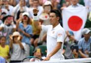 Jelang Laga Kontra Roger Federer Di Wimbledon, Kei Nishikori Merasa Prima