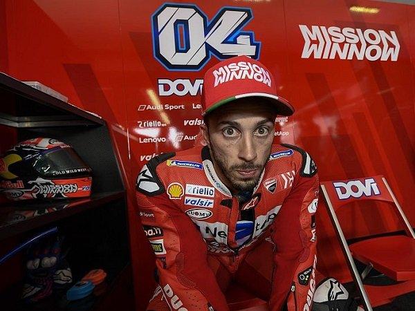 Dovizioso Bersyukur Akhiri Paruh Pertama Musim di Peringkat Kedua