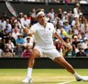 Hasil Wimbledon: Karamkan Kei Nishikori, Roger Federer Kantongi Kemenangan Ke-100 Di Wimbledon