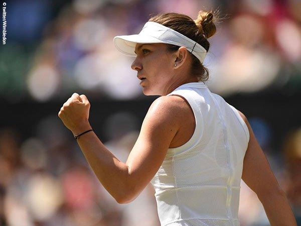 Hasil Wimbledon: Permalukan Elina Svitolina, Simona Halep Tembus Final Pertama Di Wimbledon