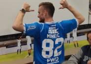 Kesan Mihelic Pertama Kali Tunggangi Rantis ke Stadion