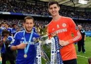 Sebelum ke Chelsea, Arsenal Ternyata Coba Rekrut Hazard dan Courtois