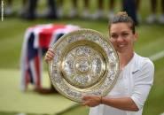 Hasil Wimbledon: Kandaskan Mimpi Serena Williams, Simona Halep Naik Podium Juara