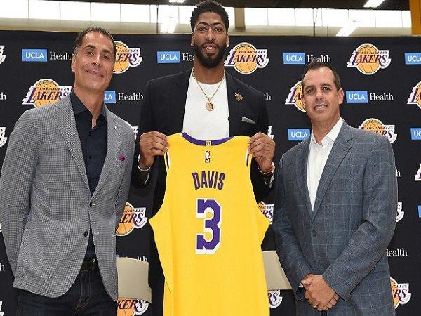 Anthony Davis Percaya Diri Akan Kemampuan Dari Skuat Baru L.A Lakers