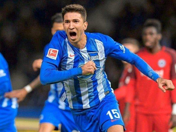 Masih Dipinjamkan Liverpool ke Hertha Berlin, Grujic Punya Target Tinggi