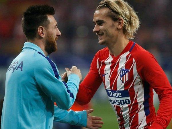 Griezmann Tak Sabar untuk Main Bareng Messi di Barcelona