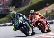 Meski Berusia Sama Sekalipun, Rossi Tetap Ragu Kalahkan Marquez di Sachsenring