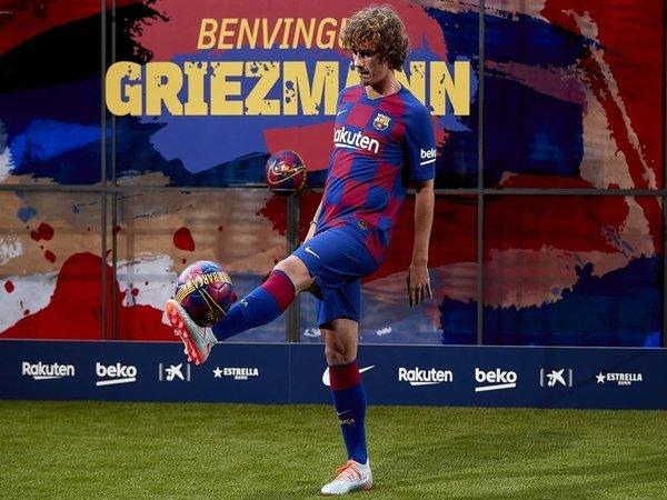 Bukan 7, Ini Nomor Punggung Baru Griezmann Bersama Barcelona