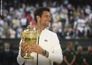 Hasil Wimbledon: Buyarkan Mimpi Roger Federer, Novak Djokovic Kantongi Gelar Wimledon Kelima