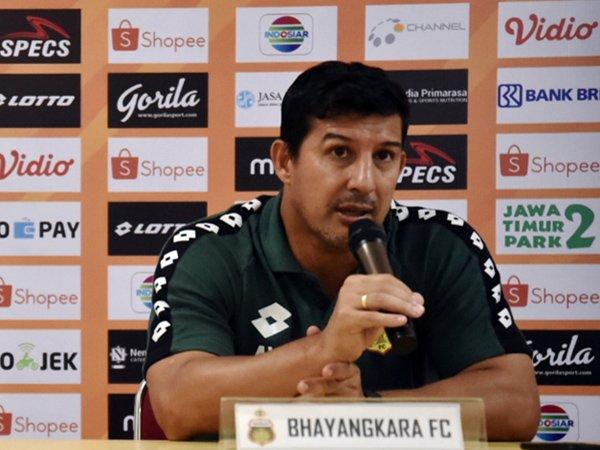 Pelatih Bhayangkara FC Waspadai Kebangkitan Semen Padang FC