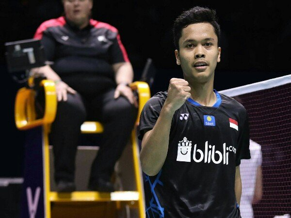 Indonesia Open 2019: Anthony Susul Jonatan ke Babak 16 Besar