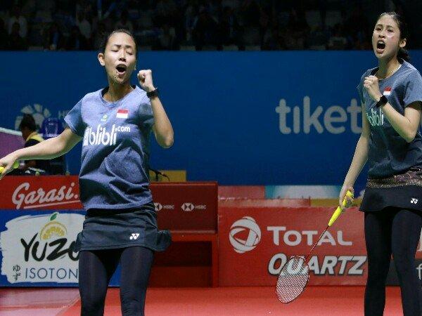 Indonesia Open 2019: Rizki/Della Kembali Hadapi Ganda China di Babak Kedua