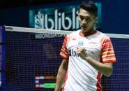 Jonatan Christie Lewati Babak Pertama Indonesia Open 2019