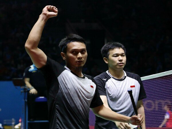 Indonesia Open 2019: Ahsan/Hendra Amankan Tiket Perempat Final
