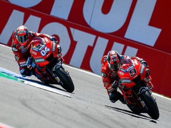 Petrucci Sadar Ducati Tak Boleh Kalah Dari Marquez di GP Ceko dan GP Austria