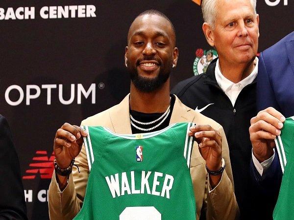 Jaylen Brown dan Jayson Tatum Jadi Faktor Terbesar Kemba Walker Pilih Boston Celtics