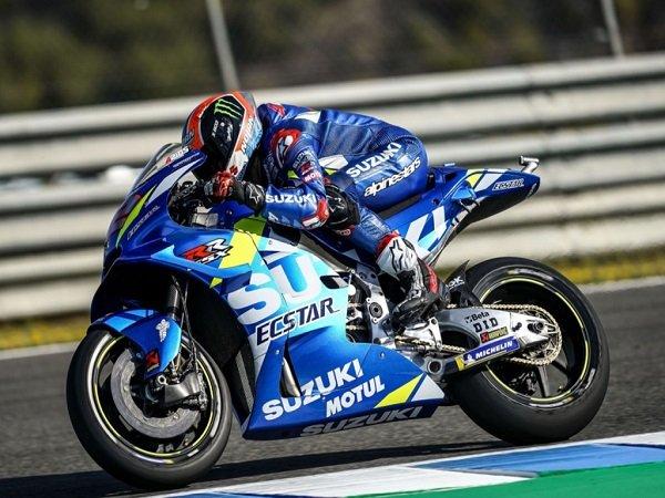 Alex Rins Cukup Puas Dengan Performa Suzuki di Paruh Pertama Musim