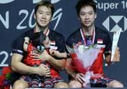 Kevin/Marcus Pertahankan Gelar Indonesia Open 2019