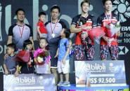 Hendra/Ahsan Kewalahan dengan Permainan Cepat Kevin/Marcus di Final Indonesia Open 2019
