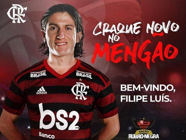 Filipe Luis Resmi Gabung Flamengo