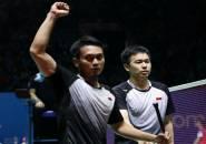 Tundukkan Kamura/Sonoda, Ahsan/Hendra ke Final Japan Open 2019