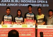 Trio Emas Kejuaraan Asia Junior 2019 Diguyur Bonus Besar