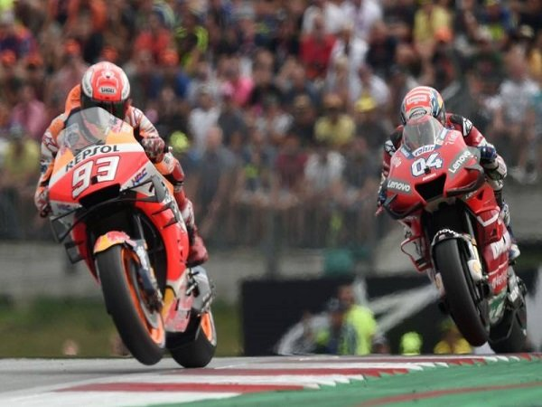 Dovizioso Akui Nekat Saat Menyalip Marquez di Tikungan Terakhir