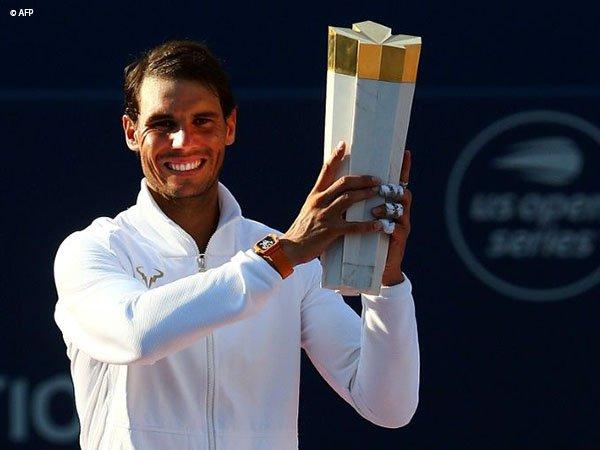 Bantai Daniil Medvedev, Rafael Nadal Pertahankan Gelar Rogers Cup