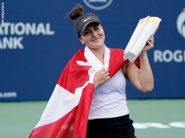 Usai Juarai Rogers Cup, Bianca Andreescu Pilih Mundur Dari Cincinnati