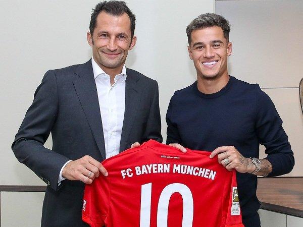 Bayern Munich Punya Opsi untuk Permanenkan Transfer Philippe Coutinho dari Barcelona