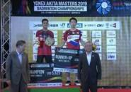 Hasil Final Akita Japan Masters 2019: Korea Dua Gelar, Indonesia Satu