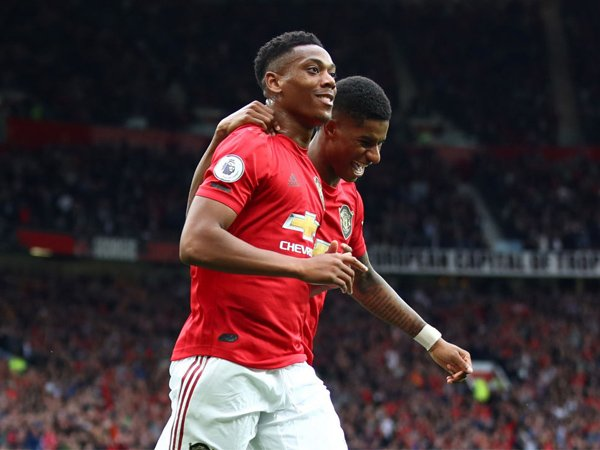Jika Rashford dan Martial Tajam, Man United Punya Peluang Finis Empat Besar