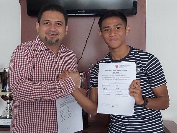 PSM Makassar Resmi Pinjam Firza Andika Dari Klub Belgia