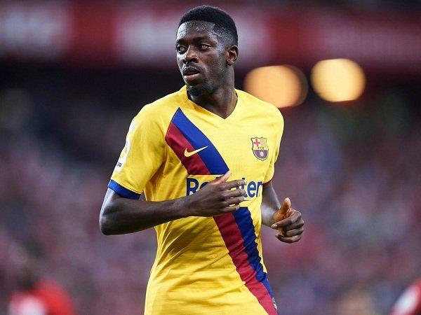 Agen Jamin Ousmane Dembele Bertahan di Barcelona