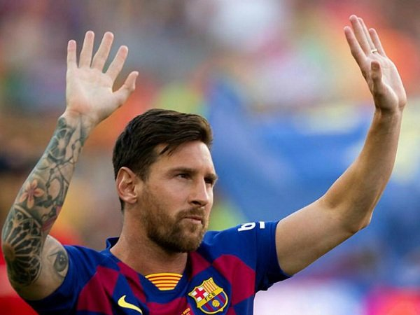 Lionel Messi Akhirnya Kembali Berlatih Bersama Barcelona