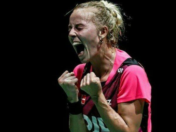 Kejuaraan Dunia 2019: Kandaskan Saina Nehwal, Mia Blichfeldt Tembus Perempat Final