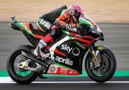 Aleix Espargaro Senang Dengan Kualitas Aspal Baru Dari Sirkuit Silverstone