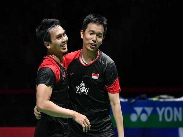 Bawa Pulang Medali Emas, Ahsan/Hendra Diberi Ucapan Selamat Oleh Presiden Jokowi