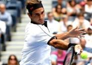 Hasil US Open: Roger Federer Luluh Lantakkan David Goffin